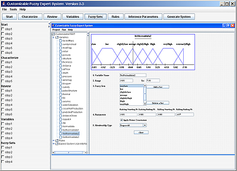 A screenshot of the Question Management Interface.