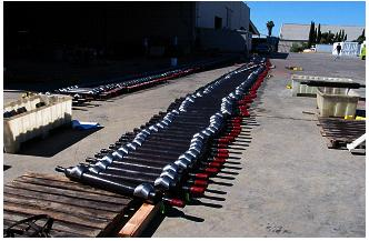 400 receiver pods prepared for deployment