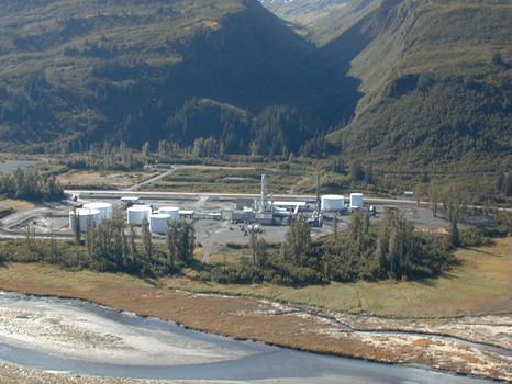 Petro Star refinery at Valdez, AK.