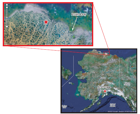 The Mt. Elbert prospect is located within the Milne Point Unit on Alaska's North Slope.