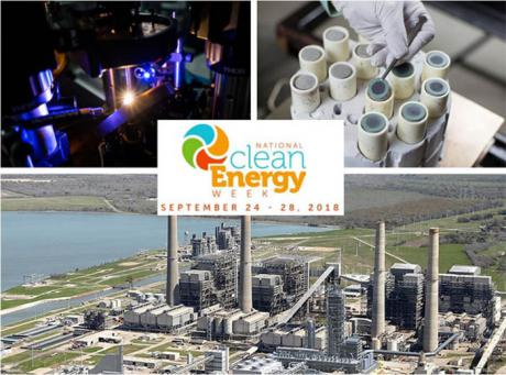 National Clean Energy Week September 24 - 28, 2018