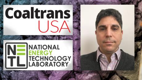 Christopher Matranga, a research scientist in the Materials and Manufacturing Division of NETL, is an event speaker at Coaltrans USA 2019 this week in Miami, Florida, where coal producers, consumers, traders, supply chain and policy makers are learning about trends and innovations affecting the coal supply chain in America.
