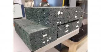 SensorsSmart refractory bricks developed through an NETL-managed project contain embedded ceramic sensors for monitoring coal gasifier health and processing conditions.